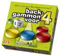 Backgammon voor 4